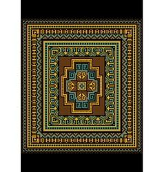 Pattern for the original carpet vector