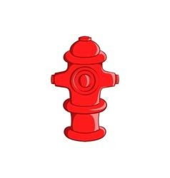 Fire hydrant icon cartoon style vector