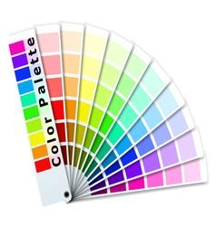 Color palette vector