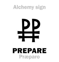 Alchemy prepare praeparo preparation vector