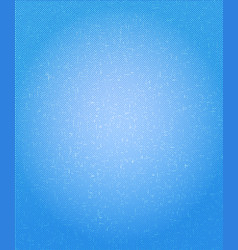 Blue halftone speckled background vector
