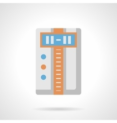 Climate appliances flat color icon vector image