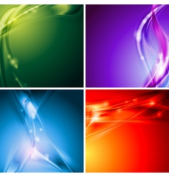Colourful backgrounds vector image