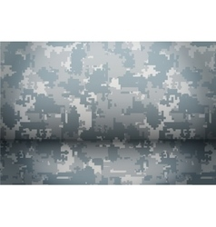 Digital camouflage background vector