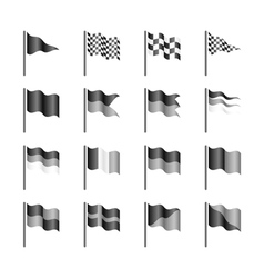Flags template vector image