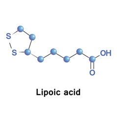 Lipoic acid antioxidant vector