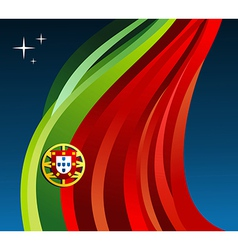 Portugal flag background vector