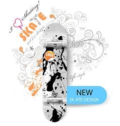 Skate Board Design vector