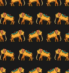 Stylized Indian Elephant vector