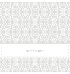 Classic elegant card or invitation for party vector image