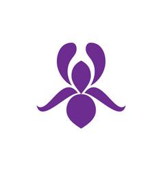 flower icon logo image vector image