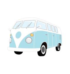 Camper Van Retro vector image vector image
