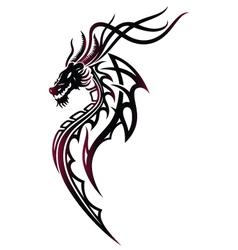 Dragon fire vector