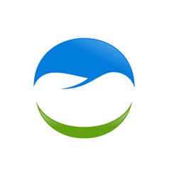 dental care smile symbol design vector image