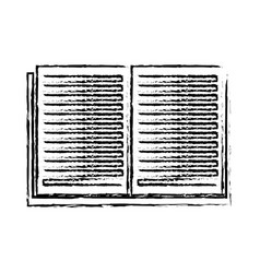 Open book learn literature library sketch vector