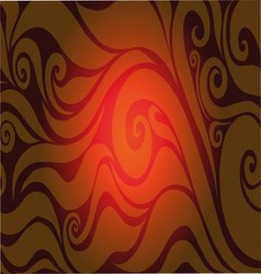 Red seamless background with abstract patterns vector