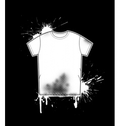 shirt art template vector image