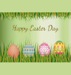 easter day background vector image