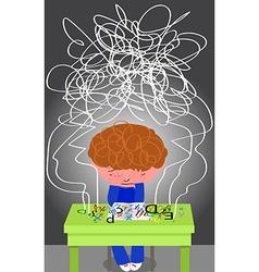 Frustrating Dyslexia vector image vector image