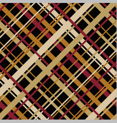 geometric pattern with diagonal endless stripes vector image