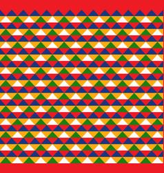 Colorful hawaiian tribal seamless pattern design vector