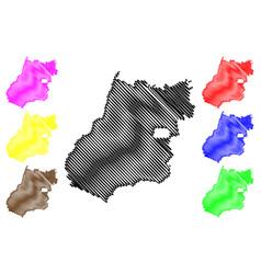 Goias map vector