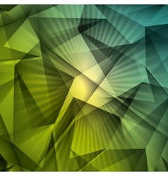 Green background style design vector image