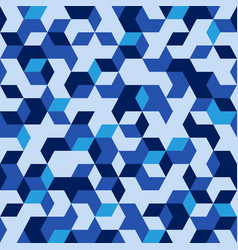Hexagonal military seamless pattern vector