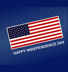 independence day banner fourth july american vector image