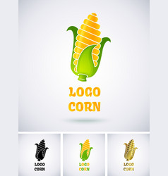 Logo corn vector