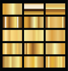 realistic gold background texture vector image