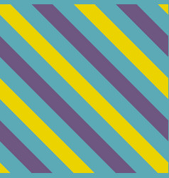 Tile blue violet and yellow stripes pattern vector