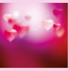pink blurring background vector image