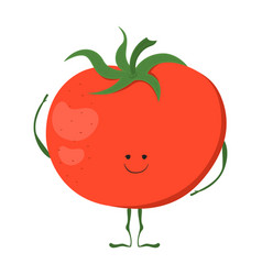 funny vegetable card vector image vector image