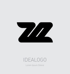 20 - design element or icon with numbers 2 and 0 vector image
