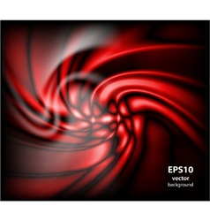 abstract energy formation - red theme vector image