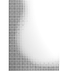 Black Pixelated Abstraction vector