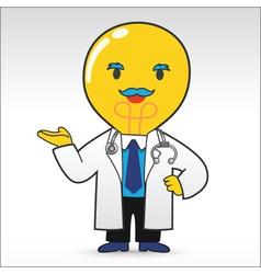 Bulb Doctor vector