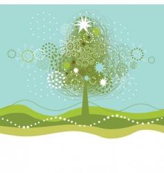 Christmas seamles illustration vector image vector image