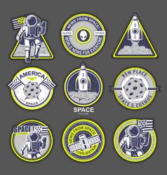 cosmos set vector image