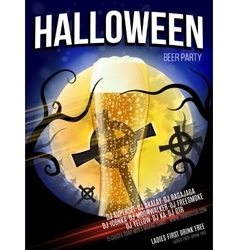 Halloween Party Flyer EPS 10 vector