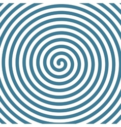 Spiral hypnotic background vector