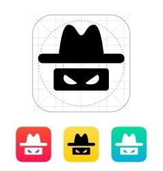 Spy icon vector image