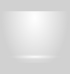 Studio room white and gray background vector