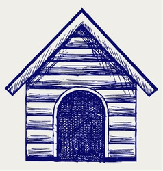 Dog House vector image vector image