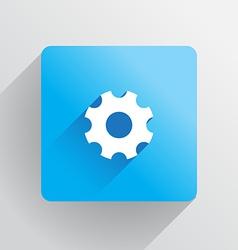 Cog icon vector image vector image