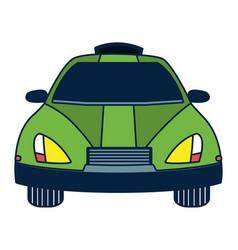 Autonomous car technology vector