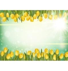 Beautiful tulips eps 10 vector