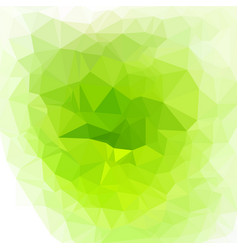 bright polygon background vector image