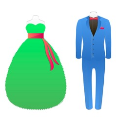 carnival Suits vector image